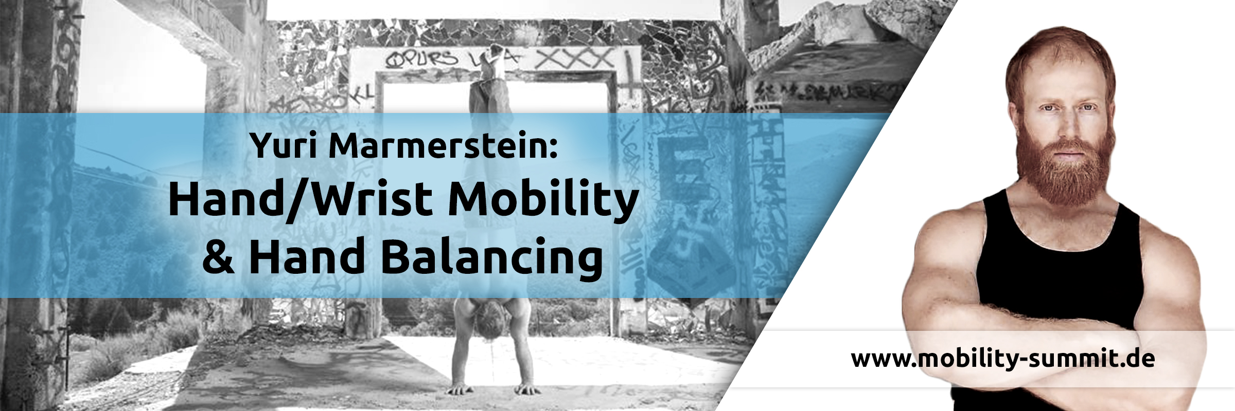 Yuri Marmerstein will be one of the speakers of the Mobility & Fascia Summit 2016