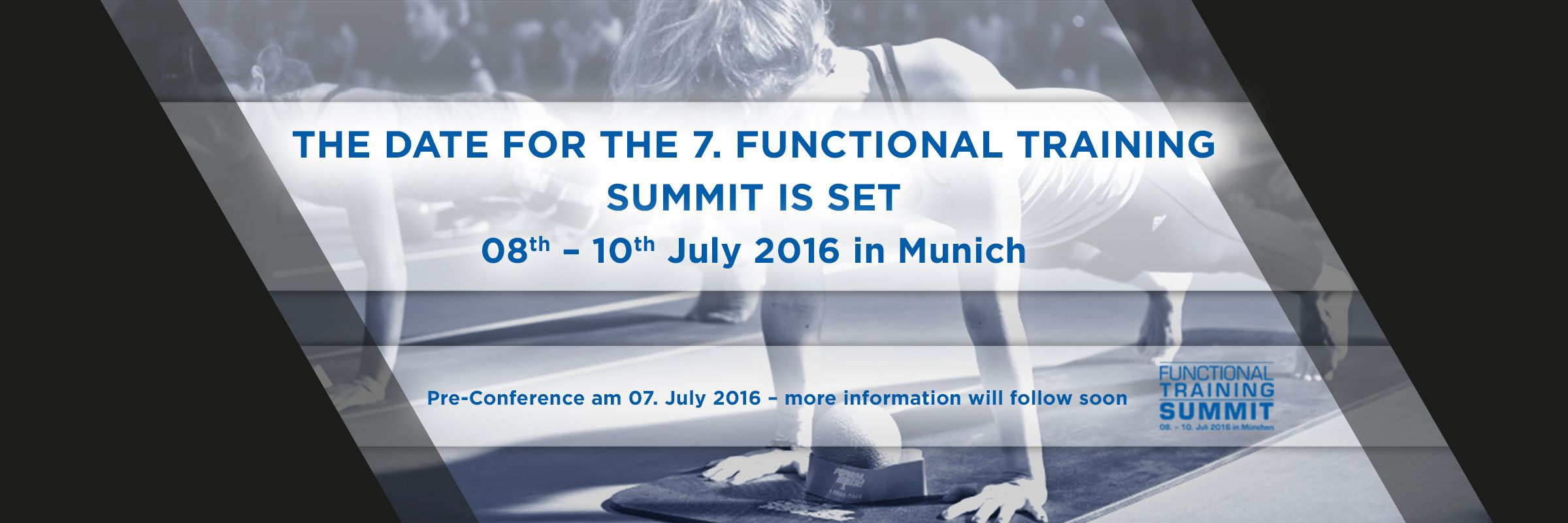 The date for the 7. Functional Training Summit is set
