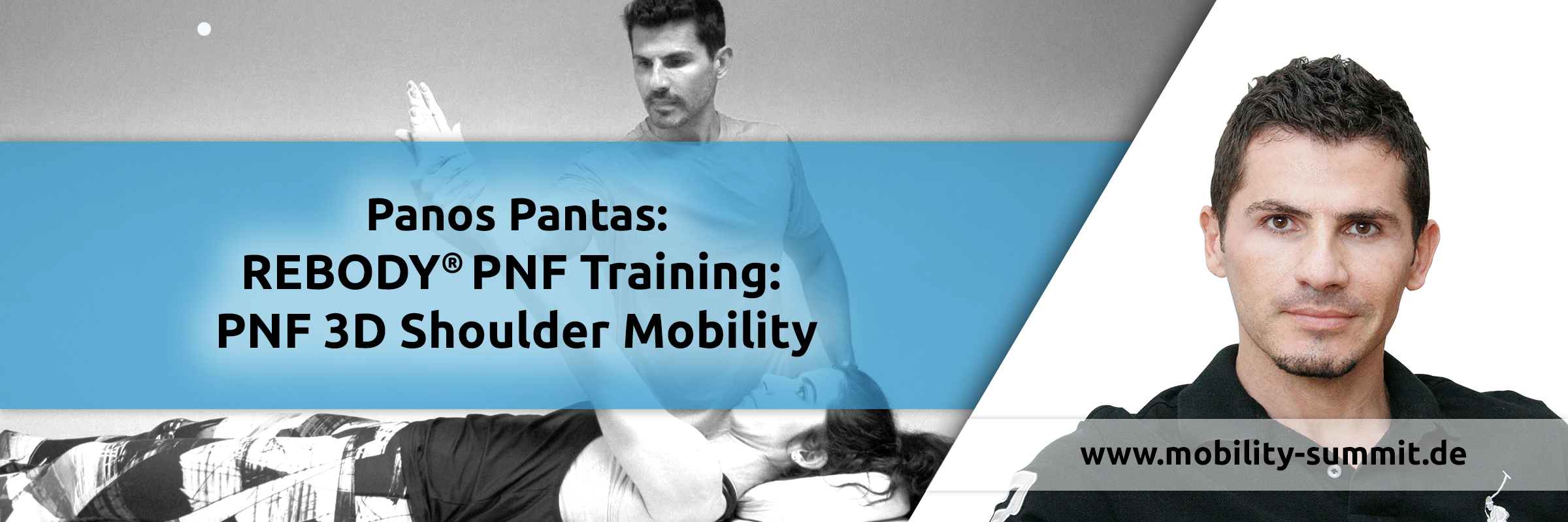 Panos Pantas with REBODY PNF Training